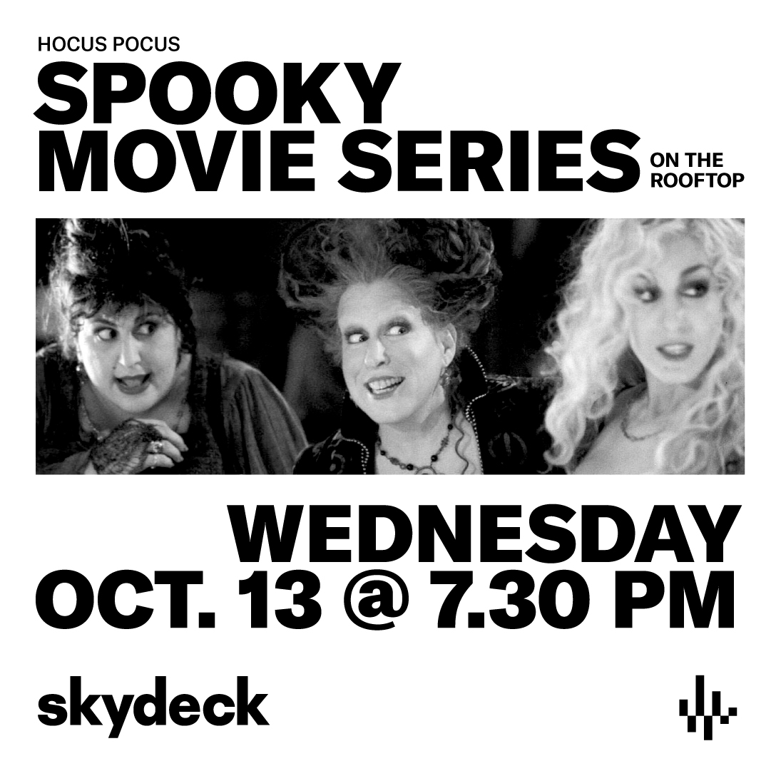 Hocus Pocus on Skydeck at Assembly Hall