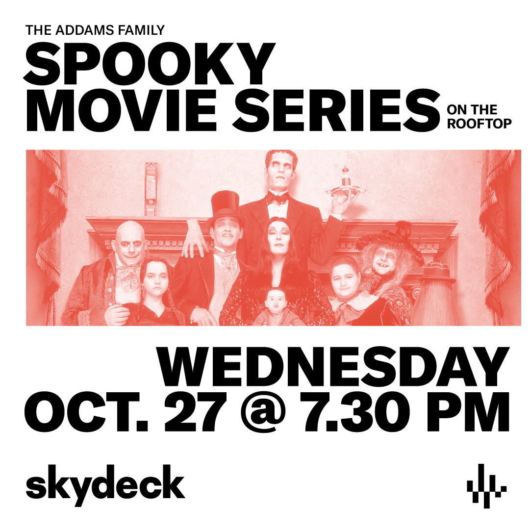 The Addams Family on Skydeck at Assembly Hall